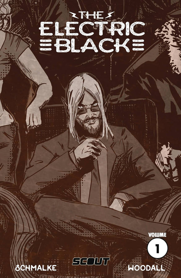 ELECTRIC BLACK TP VOL 01 - Black Cape Comics - Black Cape Comics