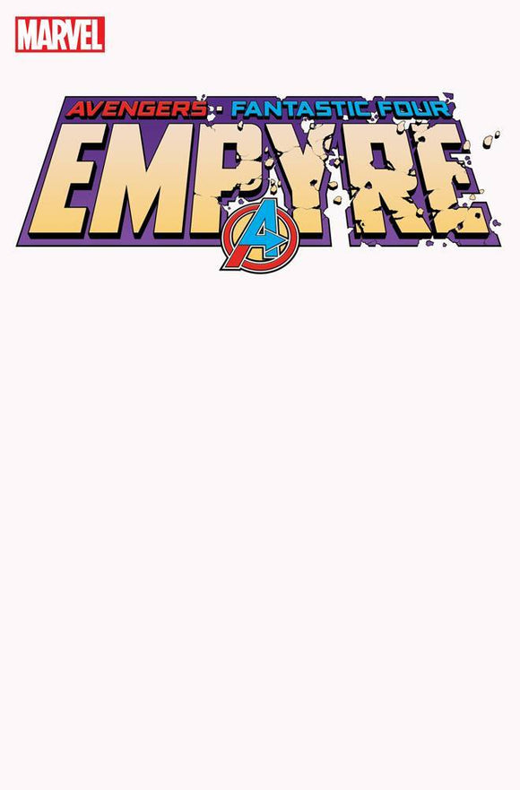 EMPYRE #1 (OF 6) BLANK VAR - MARVEL COMICS - Black Cape Comics