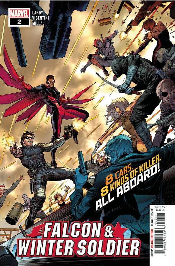 FALCON & WINTER SOLDIER #2 (OF 5) - MARVEL COMICS - Black Cape Comics