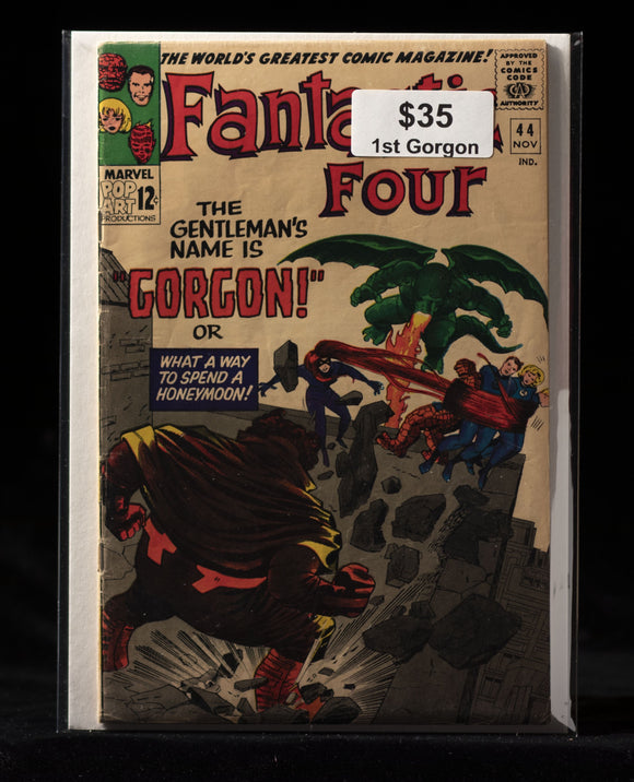 Fantastic Four (1961) #44 - MARVEL COMICS - Black Cape Comics