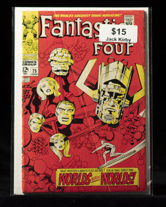 Fantastic Four (1961) #75 - MARVEL COMICS - Black Cape Comics