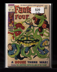 Fantastic Four (1961) #88 - MARVEL COMICS - Black Cape Comics