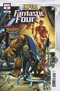 FANTASTIC FOUR #21 ADAMS MARVEL ZOMBIES VAR EMP - MARVEL COMICS - Black Cape Comics