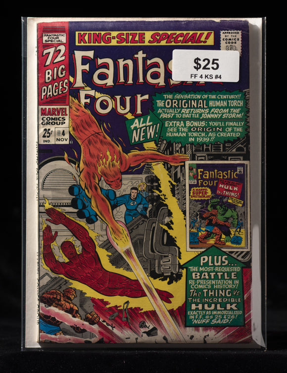 Fantastic Four King Size Special #4 - MARVEL COMICS - Black Cape Comics