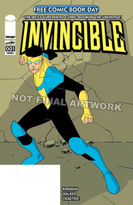 FCBD 2020 INVINCIBLE #1 - IMAGE COMICS BUY-SELL - Black Cape Comics