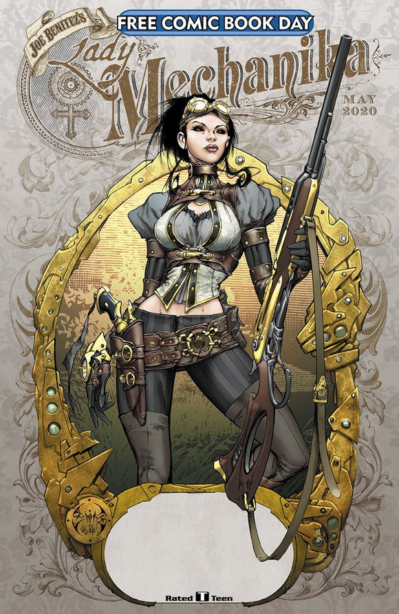 FCBD 2020 LADY MECHANIKA - BENITEZ PRODUCTIONS - Black Cape Comics