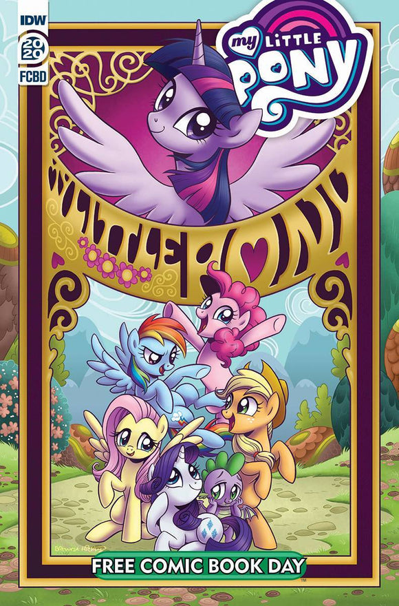 FCBD 2020 MY LITTLE PONY FRIENDSHIP IS MAGIC - IDW PUBLISHING - Black Cape Comics