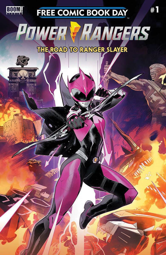 FCBD 2020 POWER RANGERS RANGER SLAYER - BOOM! STUDIOS - Black Cape Comics