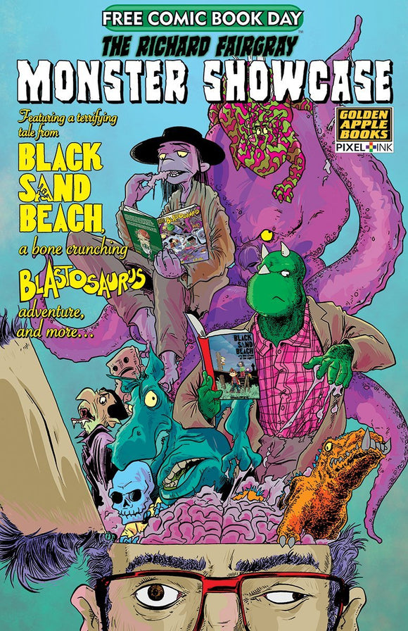 FCBD 2020 RICHARD FAIRGRAY MONSTER SHOWCASE - GOLDEN APPLE BOOKS - Black Cape Comics
