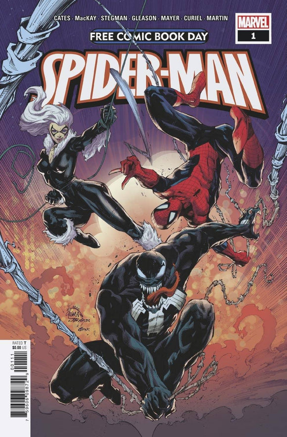 FCBD 2020 SPIDER-MAN VENOM #1 - MARVEL COMICS - Black Cape Comics