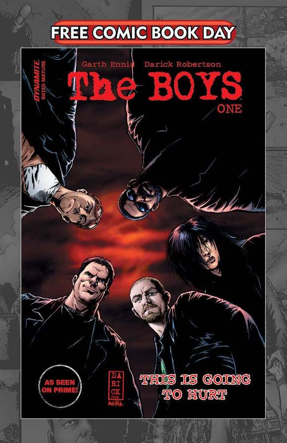 FCBD 2020 THE BOYS #1 (MR) - DYNAMIC ENTERTAINMENT - Black Cape Comics