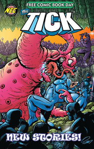 FCBD 2020 THE TICK - NEW ENGLAND COMICS - Black Cape Comics