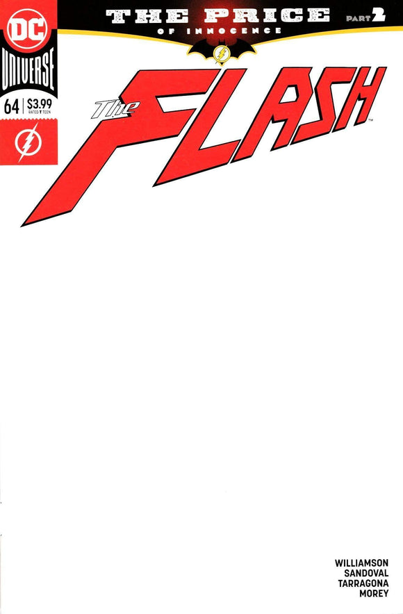 FLASH #64 BLANK VAR ED THE PRICE - DC COMICS - Black Cape Comics