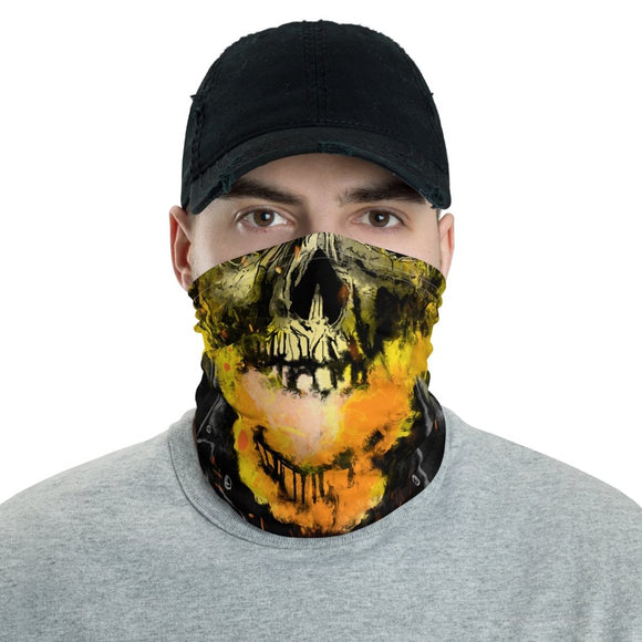 Ghost Rider Face Mask - Black Cape Comics - Black Cape Comics