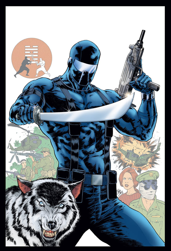 GI JOE A REAL AMERICAN HERO SNAKE EYES ORIGIN - IDW PUBLISHING - Black Cape Comics