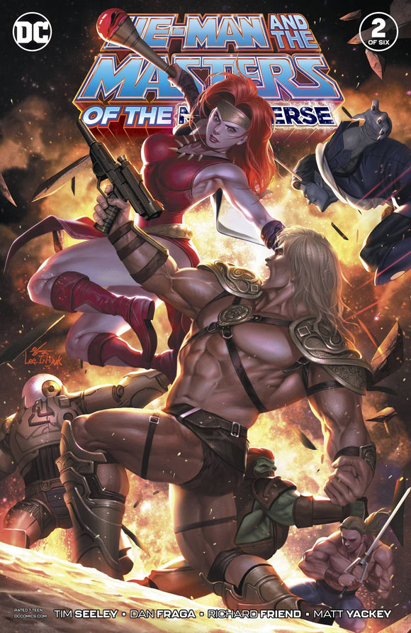 HE MAN AND THE MASTERS OF THE MULTIVERSE #2 (OF 6) - DC COMICS - Black Cape Comics