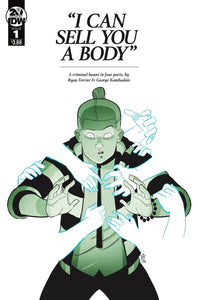 I CAN SELL YOU A BODY #1 (OF 4) - IDW PUBLISHING - Black Cape Comics