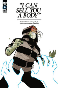 I can sell you a body #4 - IDW PUBLISHING - Black Cape Comics