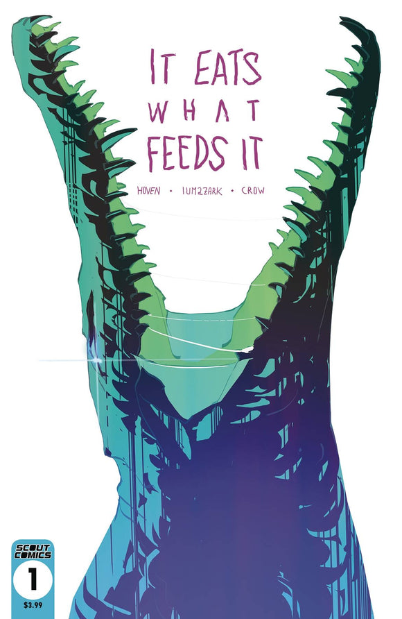 IT EATS WHAT FEEDS IT #1 2ND PTG - SCOUT COMICS - Black Cape Comic