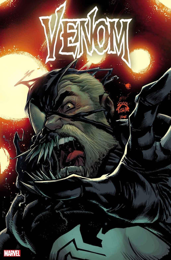 VENOM #28 STEGMAN VAR - MARVEL COMICS - Black Cape Comic
