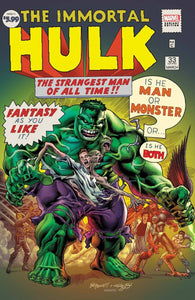 IMMORTAL HULK #33 BENNETT VAR - MARVEL COMICS - Black Cape Comics