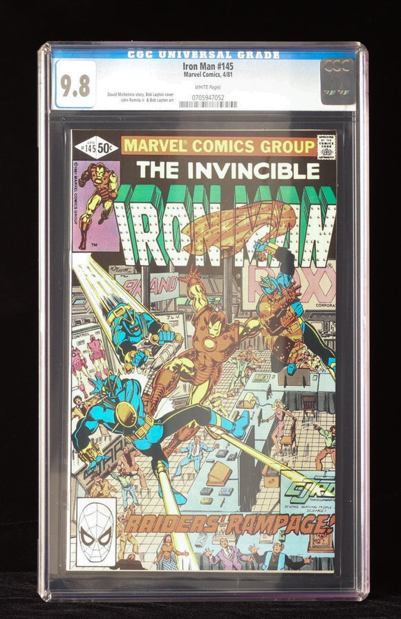 Iron Man #145 CGC 9.8 - MARVEL COMICS - Black Cape Comics