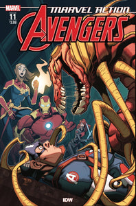 MARVEL ACTION AVENGERS #11 FIORITO (C: 1-0-0) - IDW PUBLISHING - Black Cape Comics