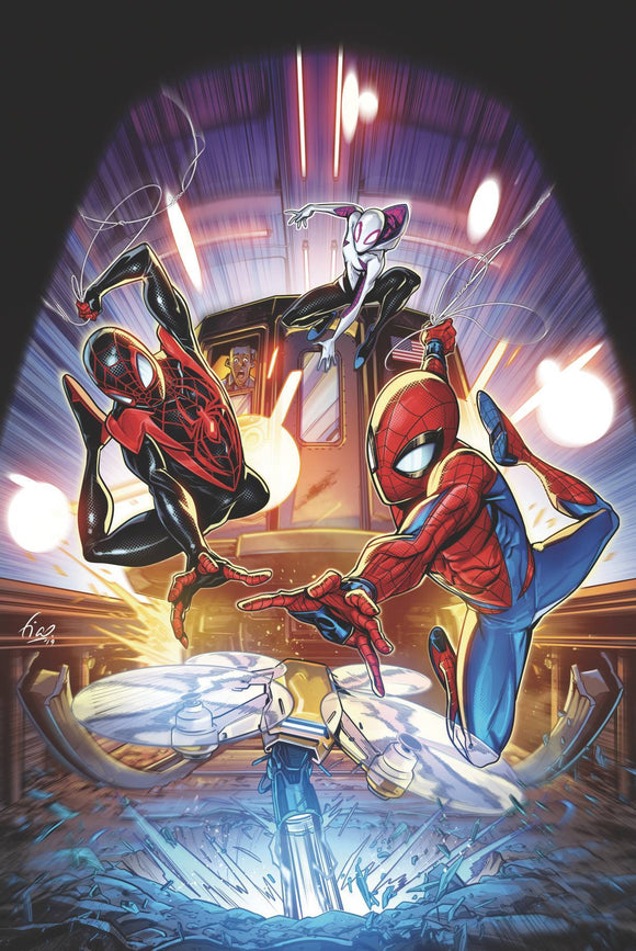 MARVEL ACTION SPIDER-MAN (2020) #2 CVR A OSSIO - IDW PUBLISHING - Black Cape Comics