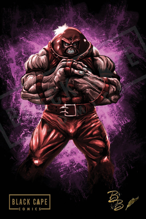 Masked Juggernaut Print - Black Cape Comics - Black Cape Comics