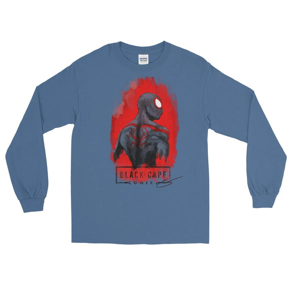 Miles Morales Long Sleeve Shirt - Black Cape Comics - Black Cape Comics