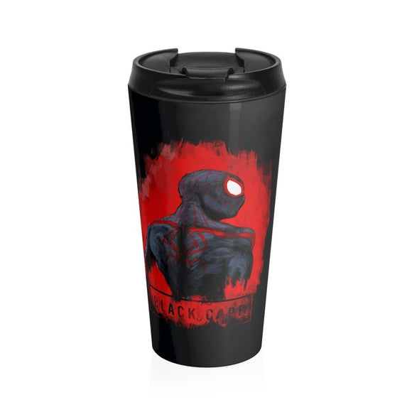 Miles Morales Travel Mug - Printify - Black Cape Comics