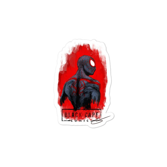 Miles Morales Vinyl Stickers - Black Cape Comics - Black Cape Comics