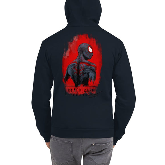 Miles Morales Zip-up Hoodie Sweater - Black Cape Comics - Black Cape Comics