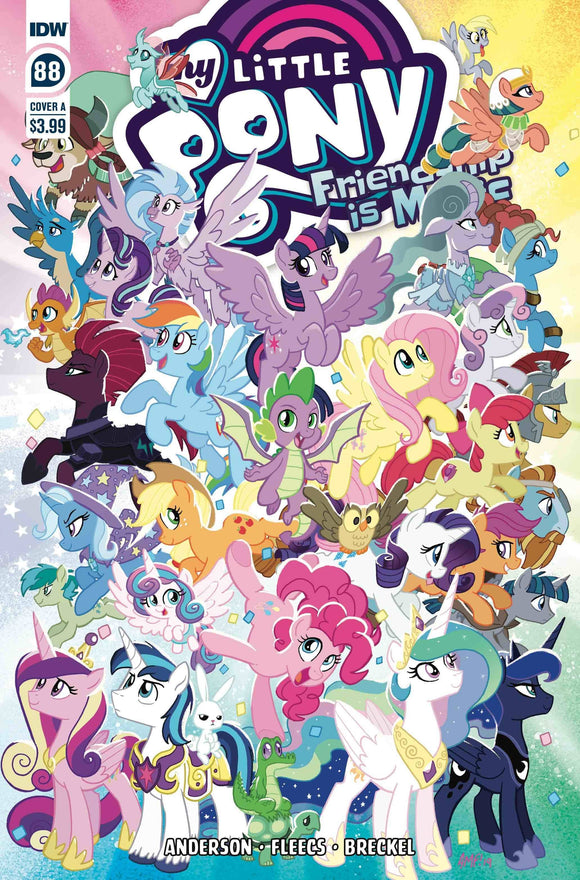 MY LITTLE PONY FRIENDSHIP IS MAGIC #88 CVR A FLEECS (C: 1-0- - IDW PUBLISHING - Black Cape Comics