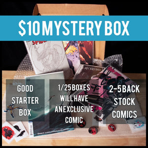 Mystery Box $10 Tier - Black Cape Comics - Black Cape Comics