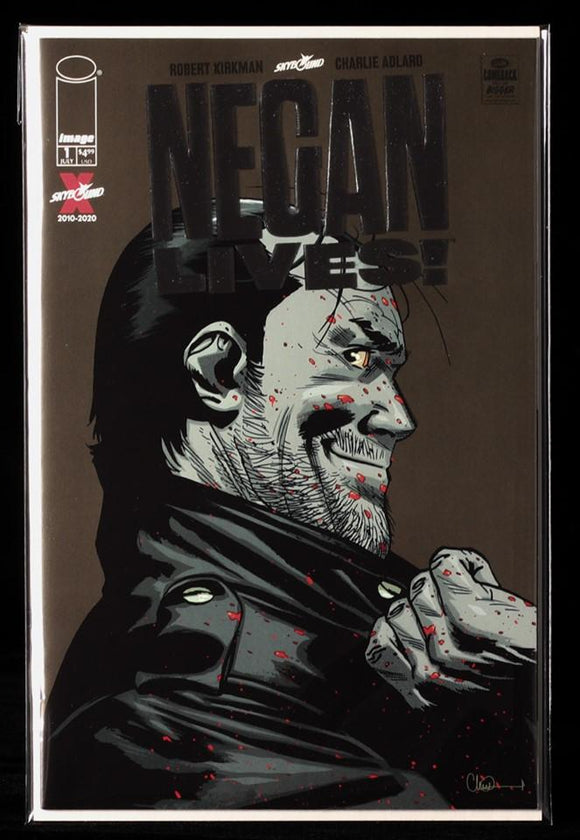 Negan Lives Silver Edition - IMAGE COMICS - Black Cape Comics
