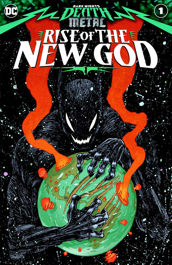 DARK NIGHTS DEATH METAL RISE OF THE NEW GOD #1 (ONE SHOT) CVR A IAN BERTRAM - DC COMICS - Black Cape Comic