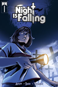Night Is Falling Kickstarter Exclusive - Black Cape Comics - Black Cape Comics