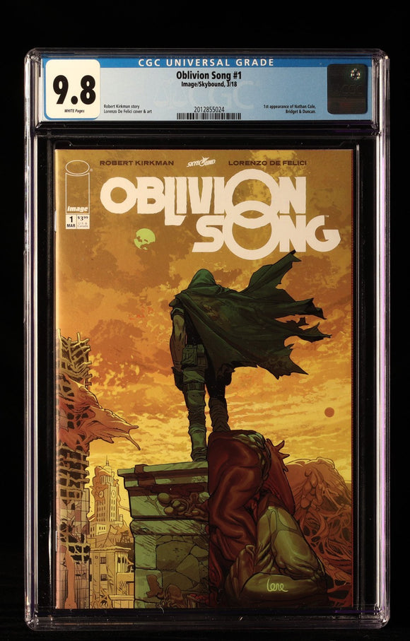 Oblivion Song #1 CGC 9.8 - IMAGE COMICS - Black Cape Comics