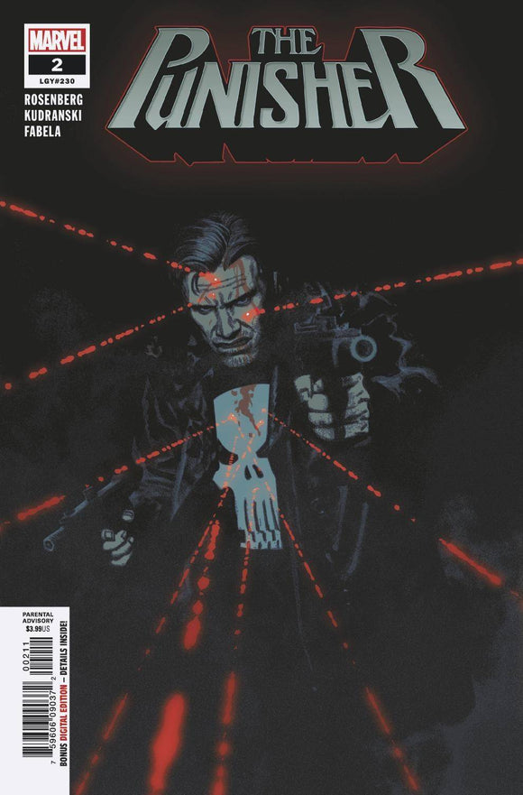 PUNISHER #2 - MARVEL COMICS - Black Cape Comics