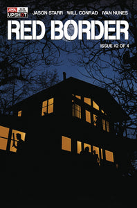 RED BORDER #2 (OF 4) (MR) - ARTISTS WRITERS & ARTISANS INC - Black Cape Comics
