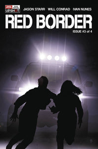 RED BORDER #3 (OF 4) (MR) - ARTISTS WRITERS & ARTISANS INC - Black Cape Comics