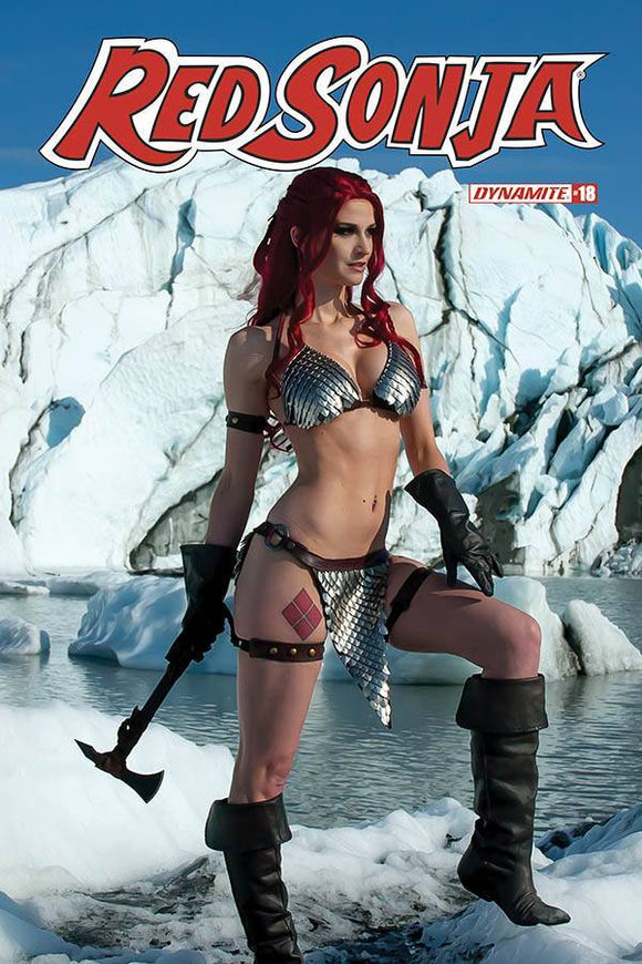 RED SONJA #18 CVR E DECOBRAY COSPLAY - DYNAMITE - Black Cape Comics