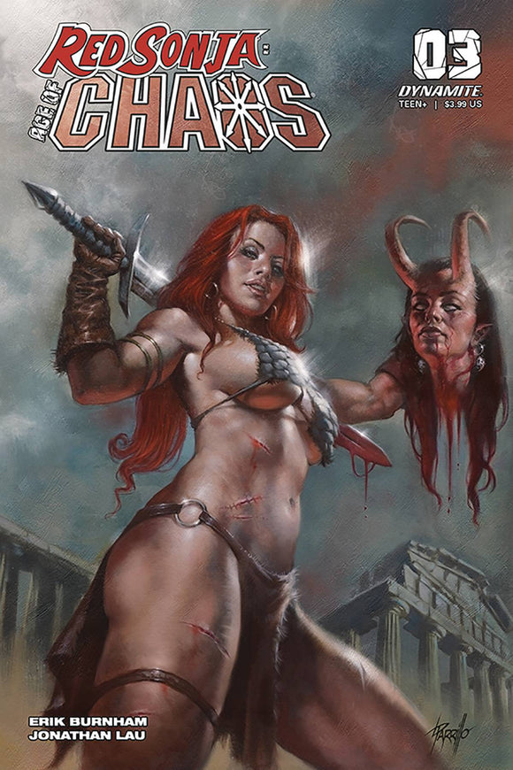 RED SONJA AGE OF CHAOS #3 CVR A PARRILLO - DYNAMITE - Black Cape Comics