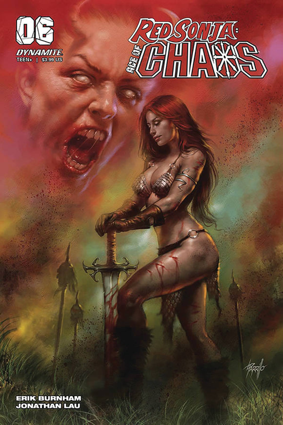 RED SONJA AGE OF CHAOS #6 CVR A PARRILLO - DYNAMITE - Black Cape Comics