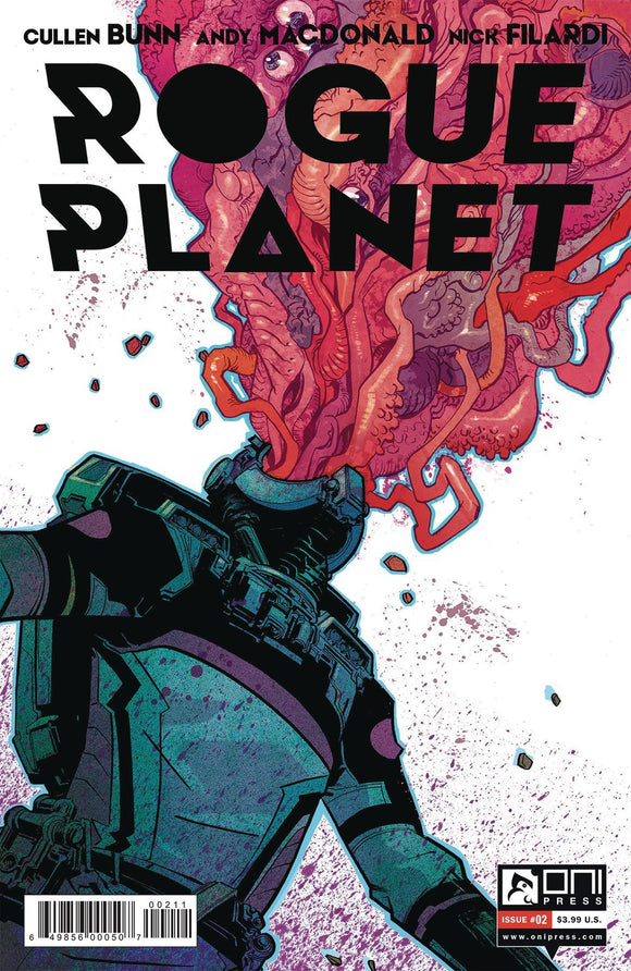 ROGUE PLANET #2 - ONI PRESS INC. - Black Cape Comics