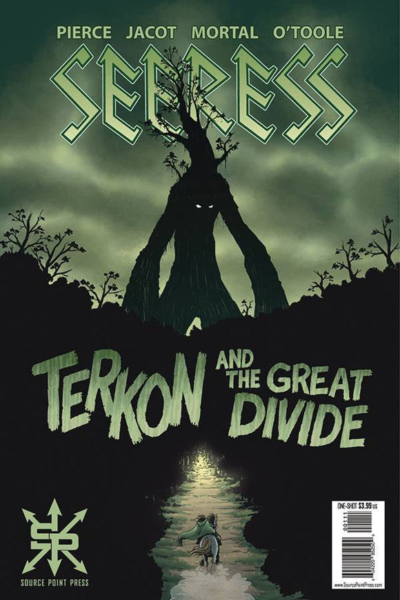 SEERESS TERKON AND GREAT DIVIDE ONESHOT (MR) - SOURCE POINT PRESS - Black Cape Comics