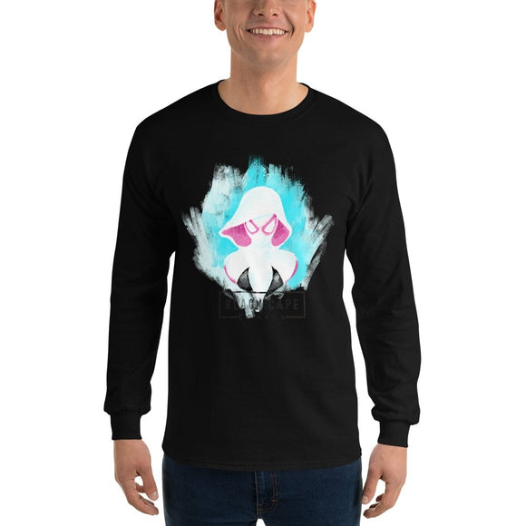 Spider Gwen Unisex Long Sleeve Tee - Black Cape Comics - Black Cape Comics