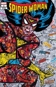 SPIDER-WOMAN #1 MR GARCIN VAR - MARVEL COMICS - Black Cape Comics