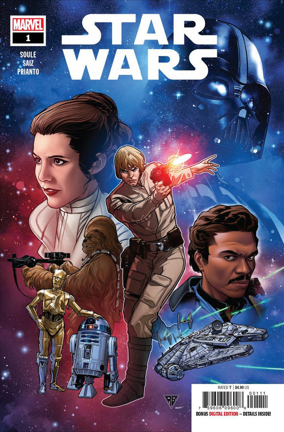 STAR WARS #1 - MARVEL COMICS - Black Cape Comics